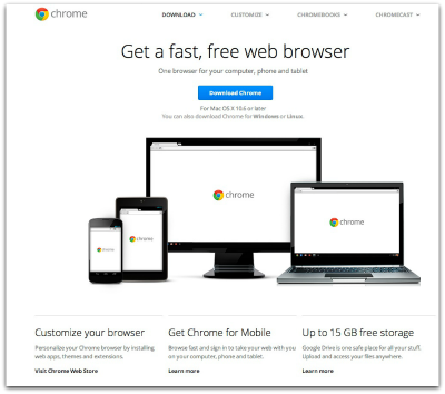 download google chrome