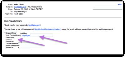 HostGator cPanel Email