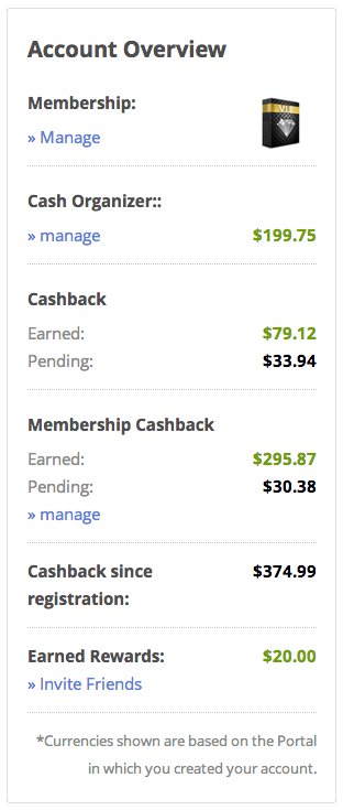 DubLi Cash Back Proof