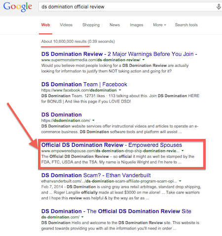ds domination official review proof